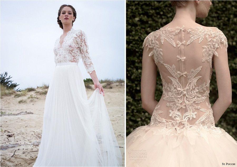Une robe de mariée sexy et transparente mais pas vulgaire !