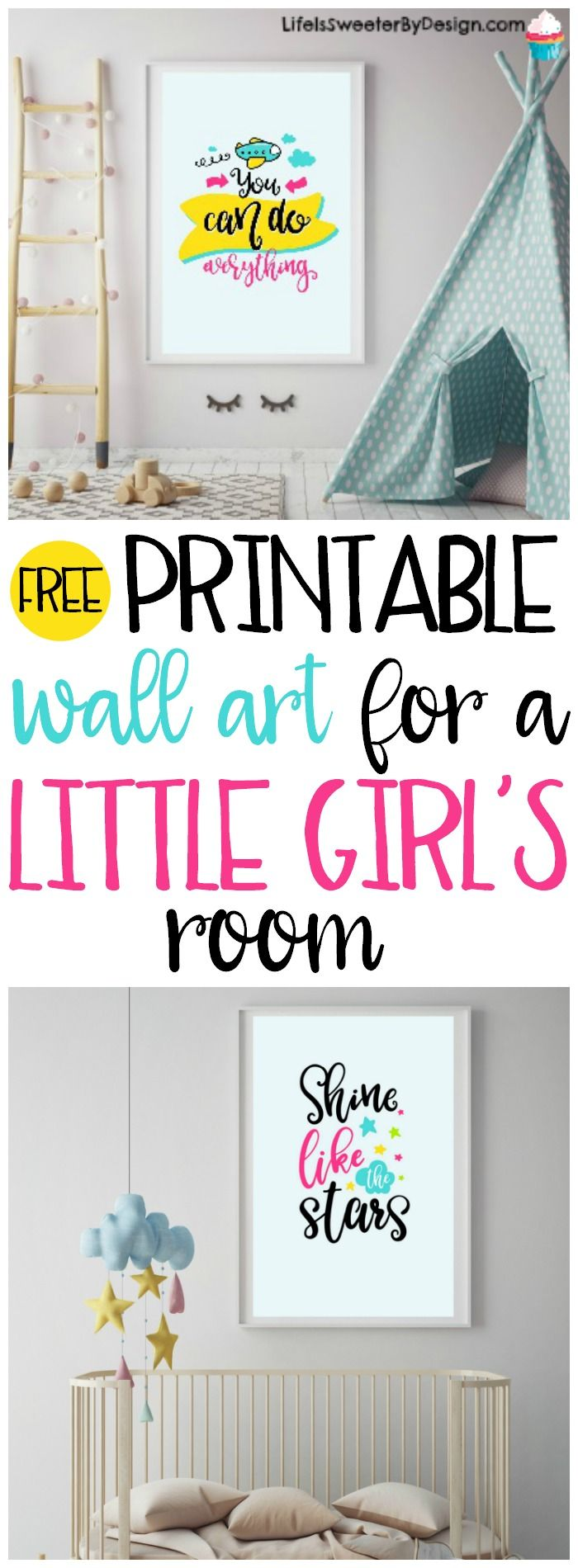 Free Printable Wall Art For A Little Girl S Room Will Add