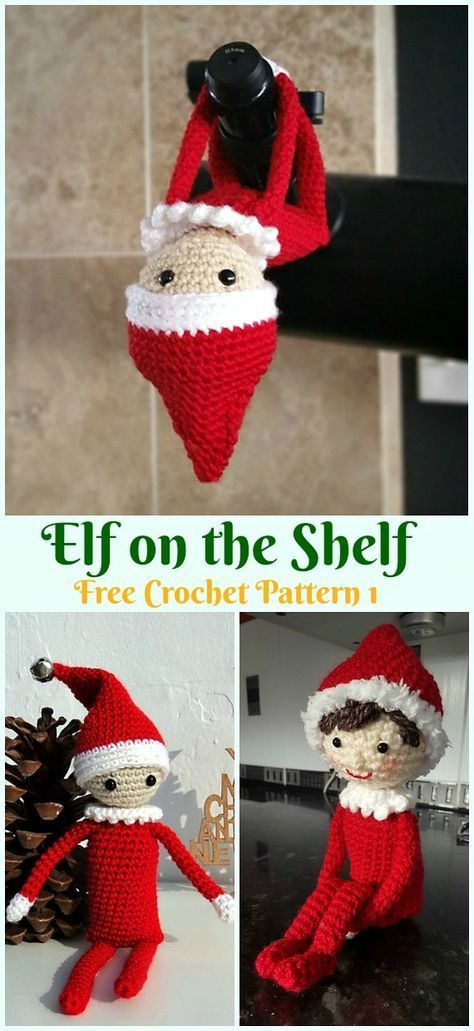 Amigurumi Elf Toy Softies Crochet Free Patterns #crochettoysanddolls