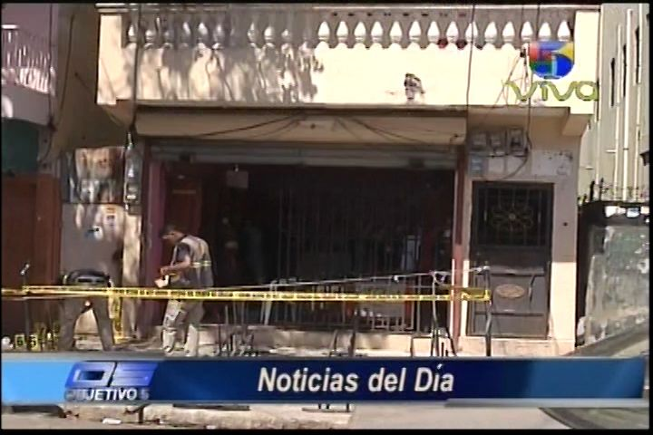 Capitan PN Y Comerciante Heridos Durante Intento De Atraco