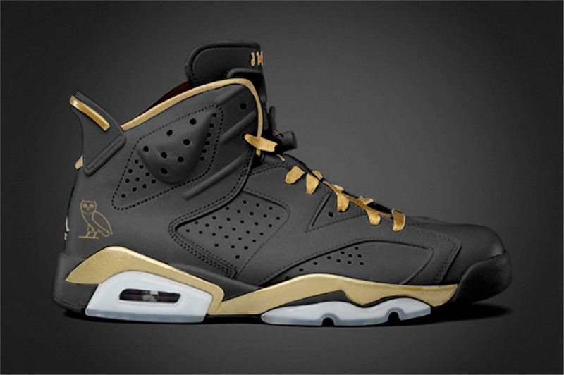 newest 6d835 834f2 Authentic Drake Air Jordan 6 OVO October VERY OWN Discount ...