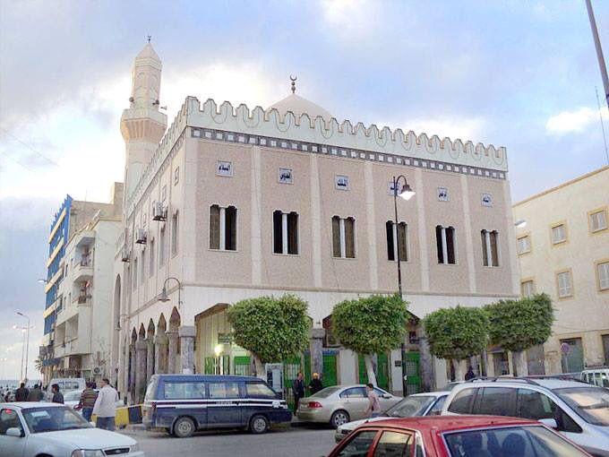 مسجد بلال بن رباح بنغازي ليبيا Bilal Ibn Rabah Masjid Benghazi Libya Mosquee