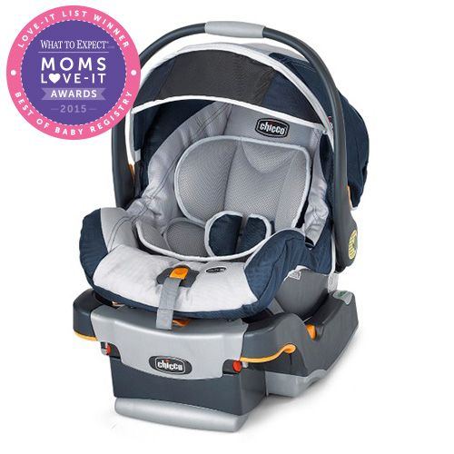 Stay Safer Longer With The Chicco KeyFit 30 Infant Car Seat Accomodating Infants From 4 To Lbs
