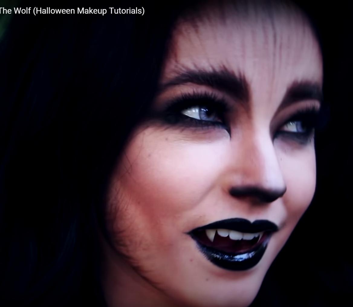 Werewolf Makeup Tutorial Youtu Mrwnjtkdgxw