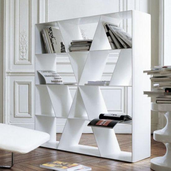Bücherregal Als Raumteiler 15 Vorschläge Viereck | Apartment