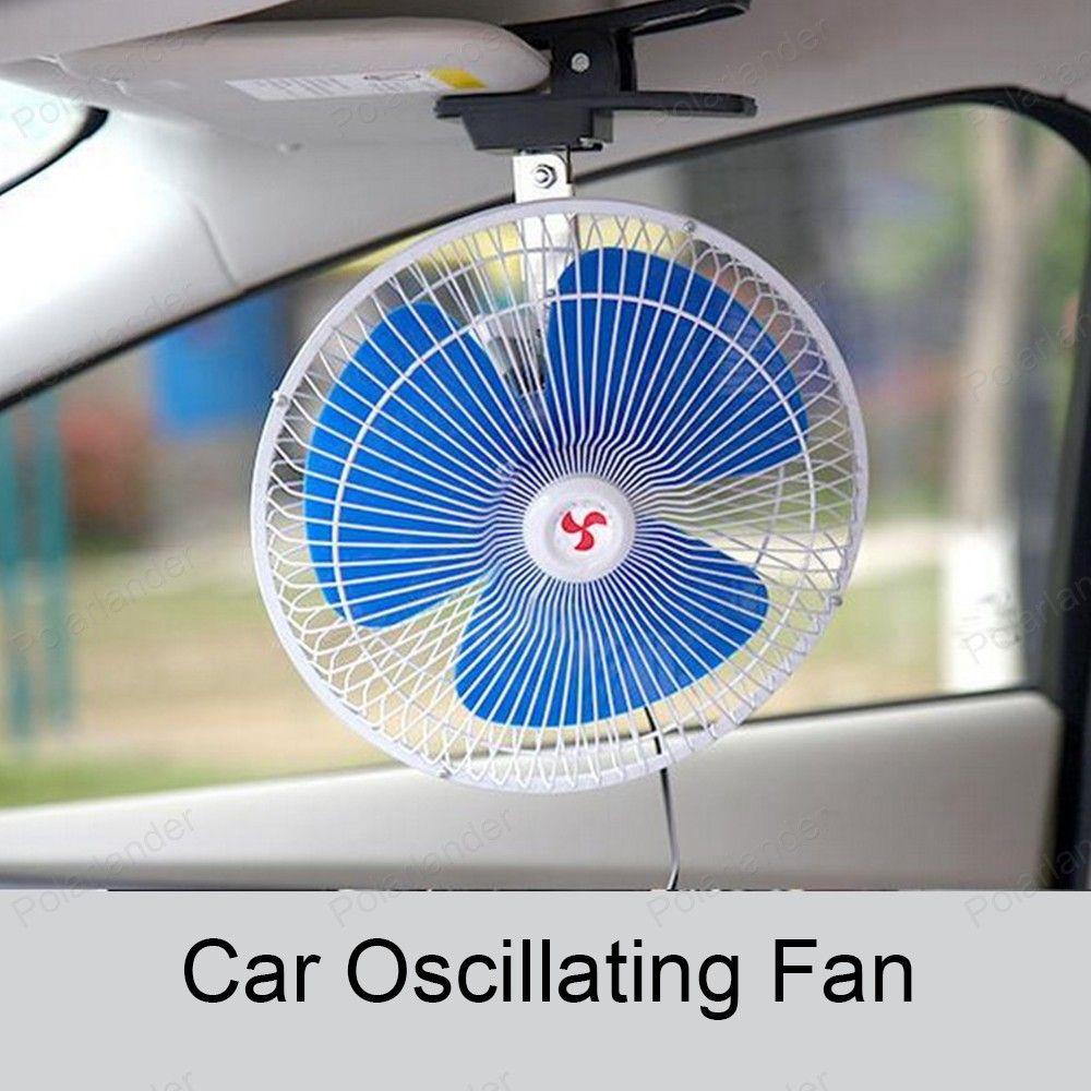 Low Noise Summer auto Mini Electric Car Fan Air