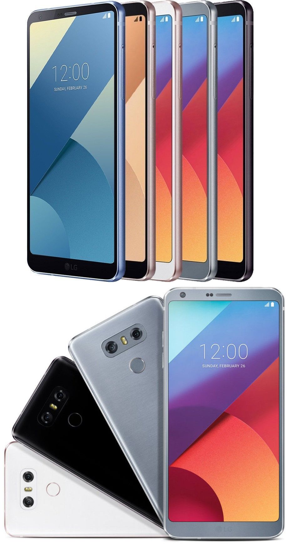Cell Phones and Smartphones 9355: Lg G6 H871 32Gb 4G Lte
