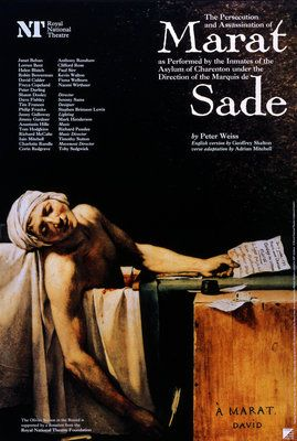 The Persecution And Assassination Of Marat As Performed By The Inmates Of The Asylum Of Charenton Under The Direction Of T The Marquis De Sade Sade Persecution