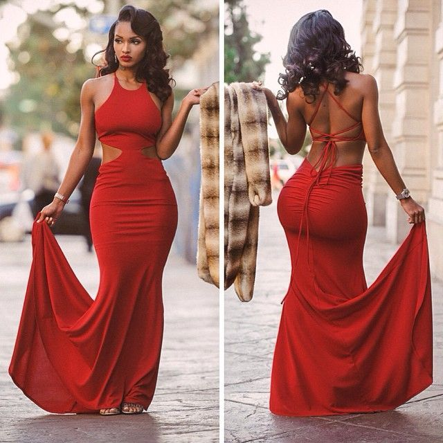 Red Prom Dresses Tumblr