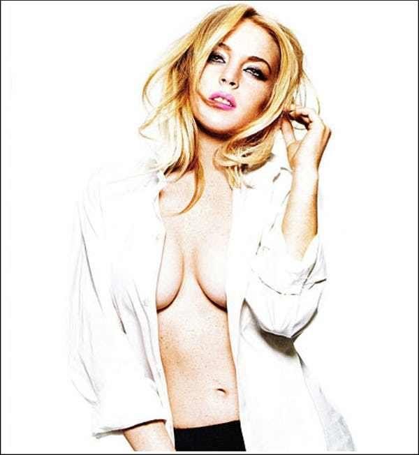 Lindsay lohan new york magazine mint marilyn monroe nude pictorial