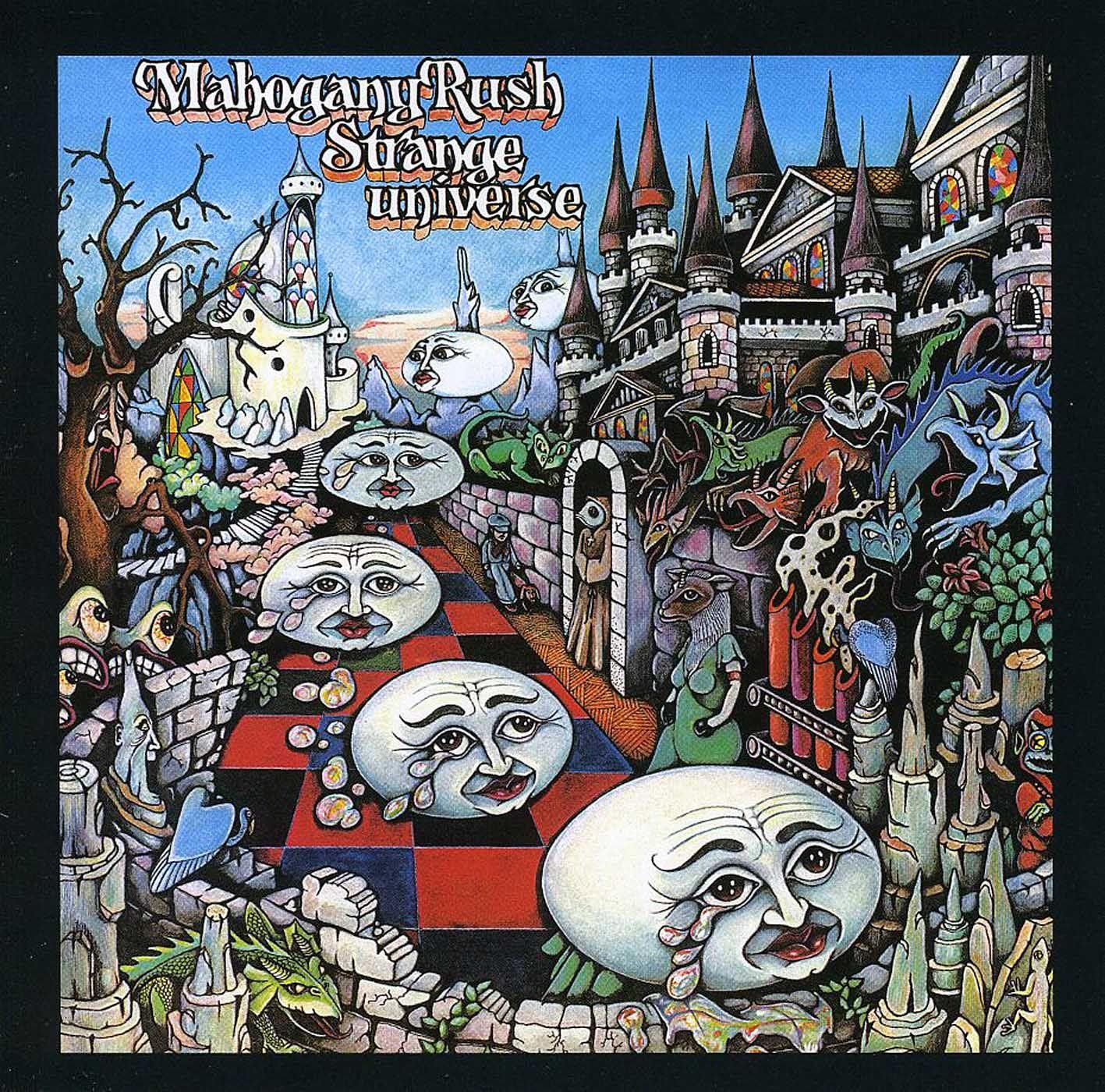 Mahogany Rush - Strange Universe
