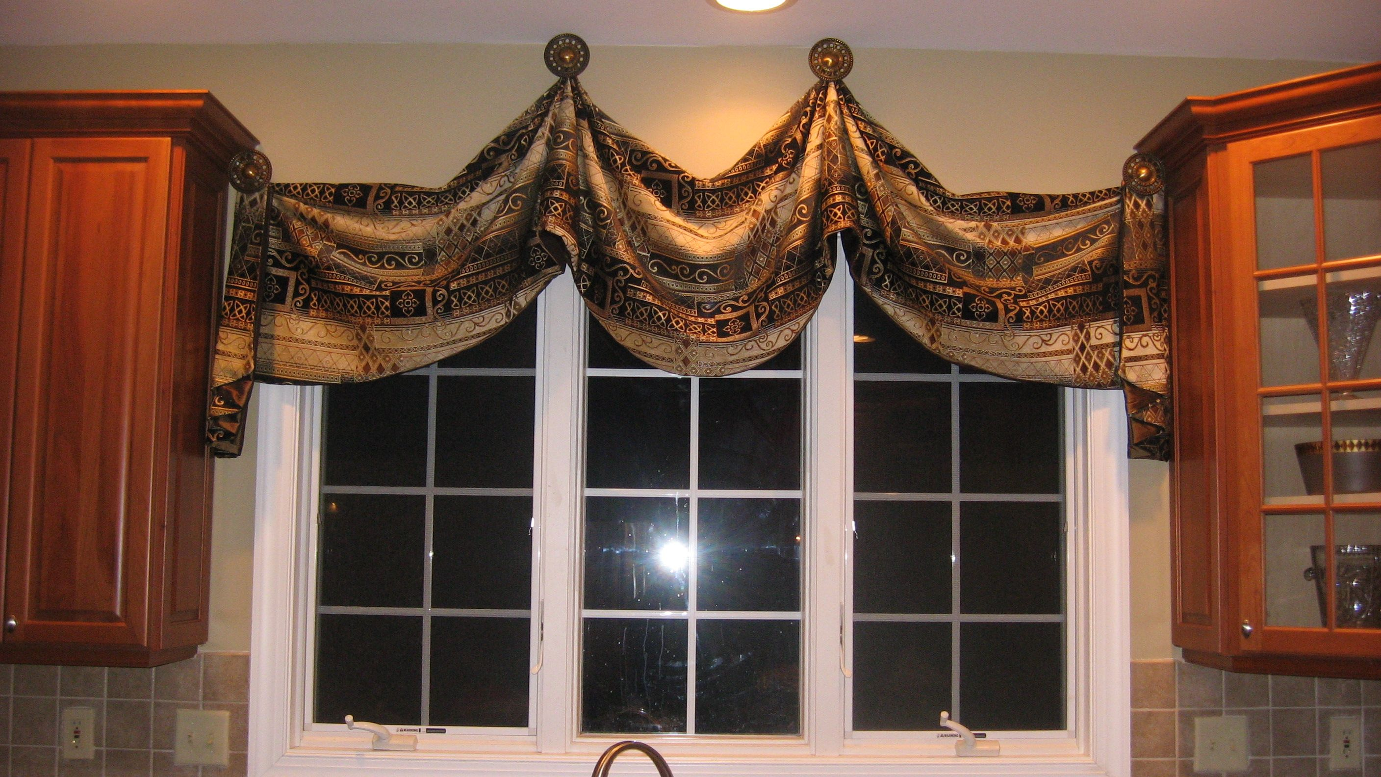 Images Of Window Treatments Designs For Triple Windows Posted In