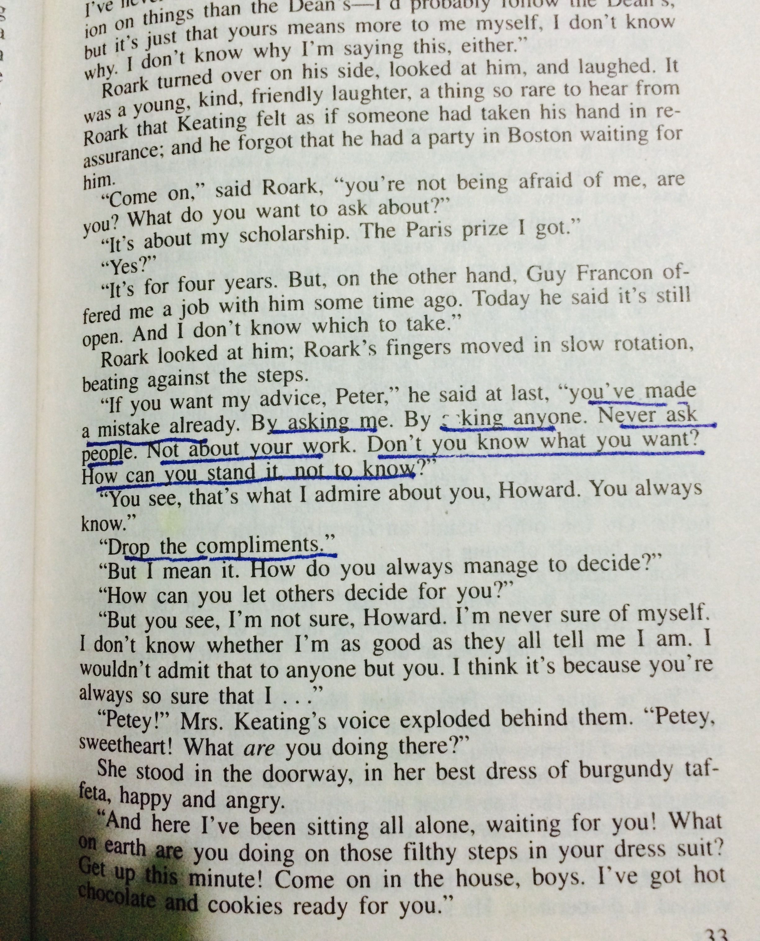 The Fountainhead Quotes