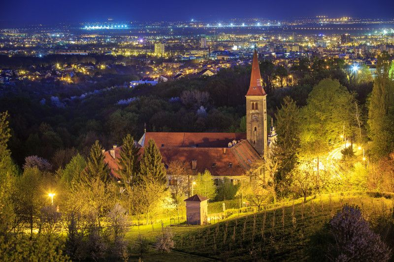 View On Zagreb Croatia From The Remete Neighborhood City Cities Buildings Photography In 2020 Zagreb Croatia Zagreb Croatia