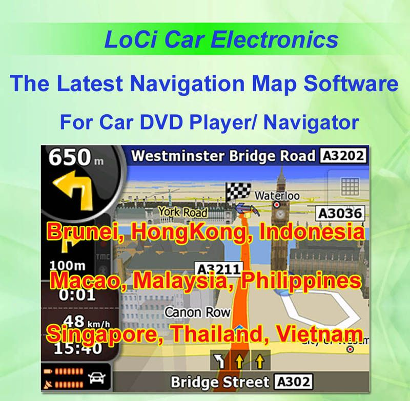 Igo Australia Map 2013.The Latest Car Igo Primo Gps Navigator Map For Thailand Indonesia