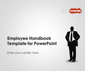 Employee Handbook Powerpoint Template Is A Free Microsoft