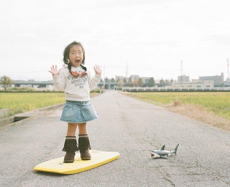 My new favorite photos series: Little Girl, Big World