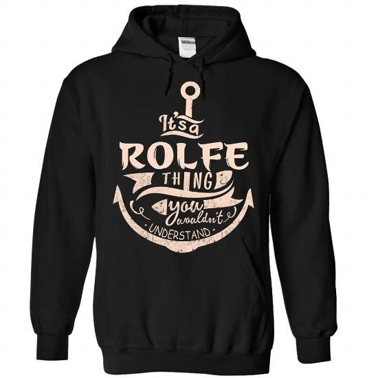 ROLFE - #tumblr tee #cool sweater. LIMITED AVAILABILITY => https://www.sunfrog.com/Camping/ROLFE-Black-89395513-Hoodie.html?68278