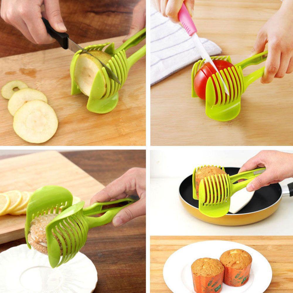 Potato Food and Tomato Onion Lemon Vegetable Fruit Slicer Egg Peel CutterHolderM