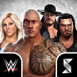 WWE Champions v0.341 Mod Money Apk Free puzzles, Wwe