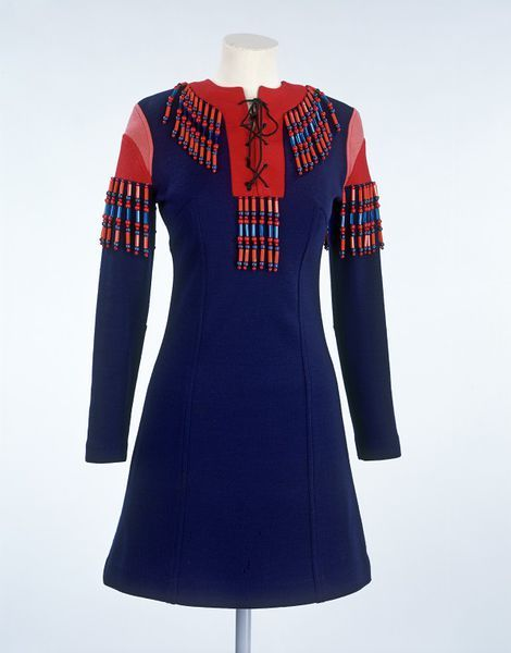 Mini dress, Jeff Banks, c. 1967.