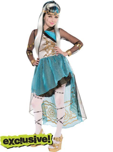 Monster High Kostuem Ebay.Girls Frankie Stein Costume Supreme Monster High Party City Monster High Costume Monster High Halloween Costumes Halloween Costumes For Girls