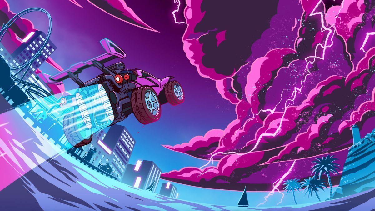 rocket league 2018 games digital art