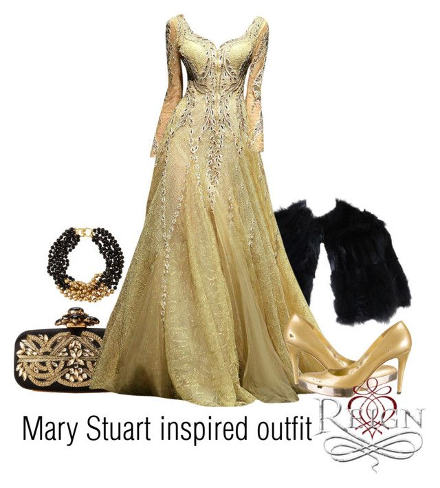 Mary stuart inspired outfit reign by tvdsarahmichele for Mary queen of scots replica jewelry