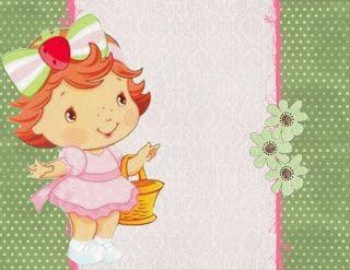 Moranguinho Baby - Kit Completo - Molduras, Convites e Rótulos