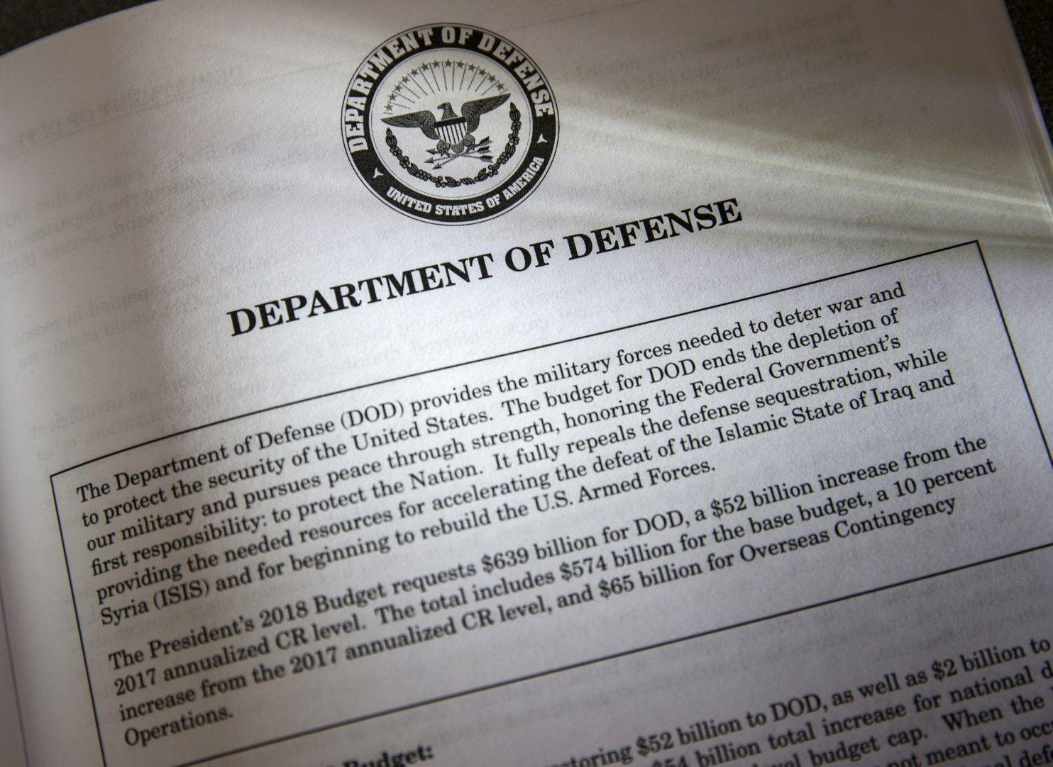 #Trump's defense budget boost raises questions on strategy - Washington Post: Washington Post Trump's defense budget boost raises questions…