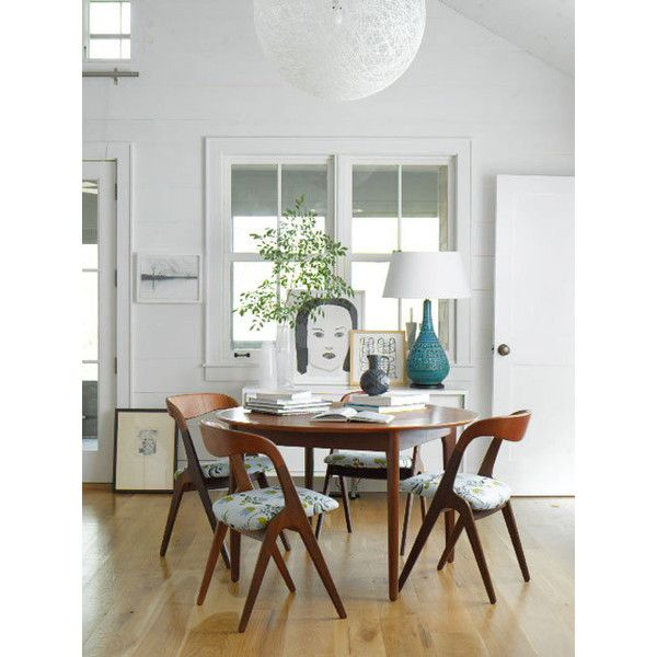 sneak peek: amie weitzman's connecticut cottage   Design*Sponge found on Polyvore