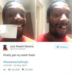 ComicLuisPowell Nailedit Pinterest - Rapper gets called out for lying online internet starts its own challenge in response