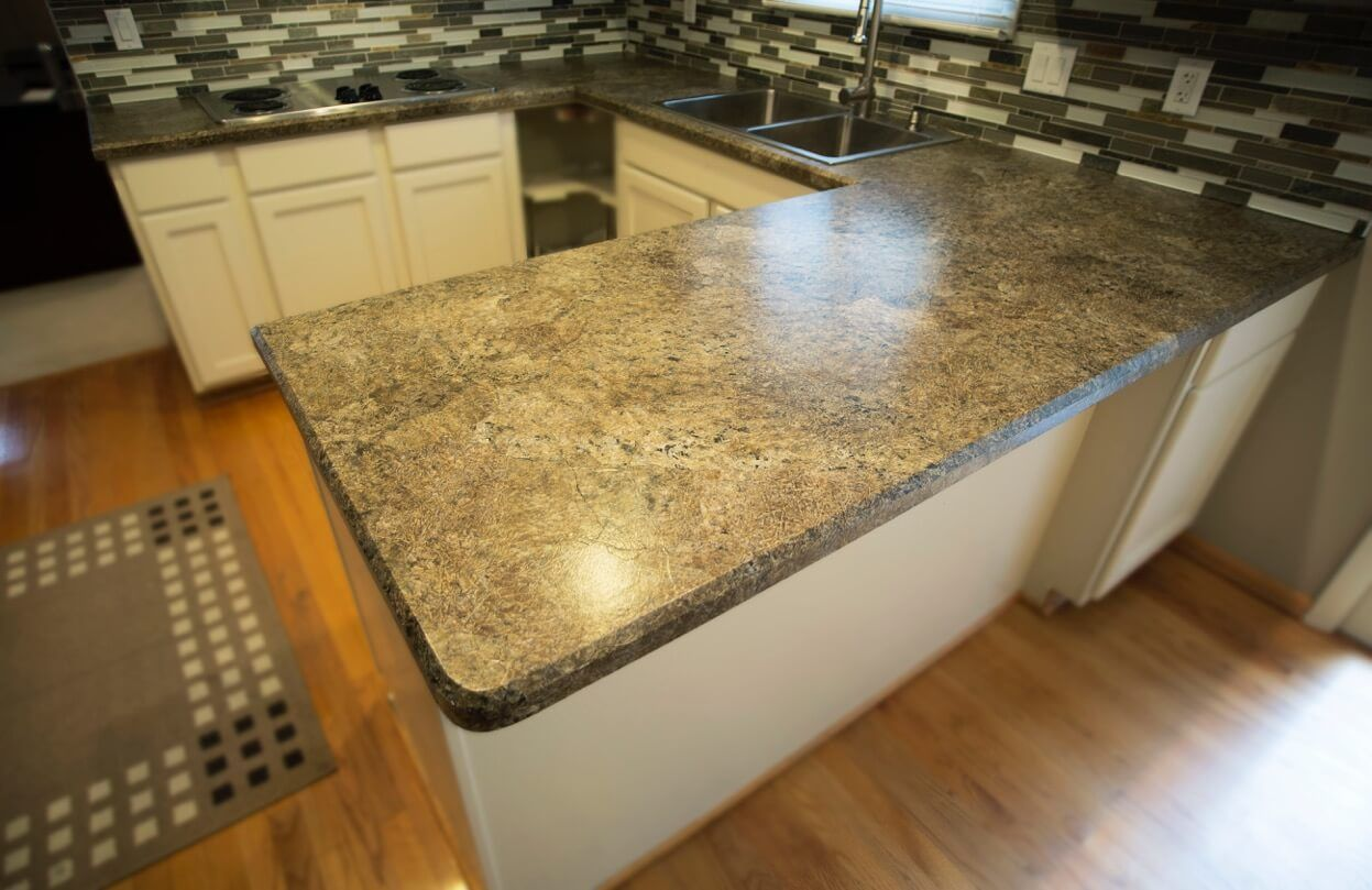 Resurfacing Laminate Kitchen Countertops Diy Painted Paper 4 Easy Steps