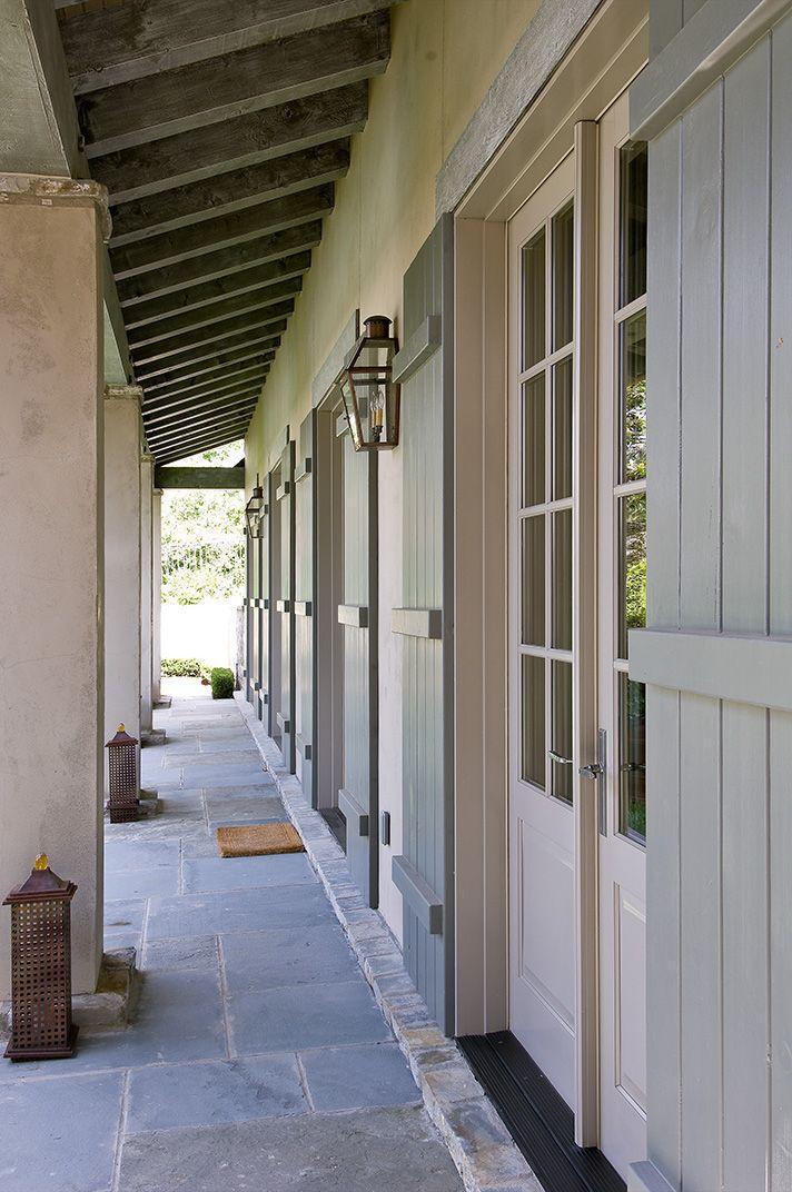 doors with shutters