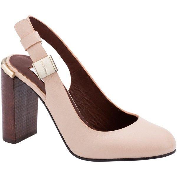 Women Fashion Block Heel Court Shoes