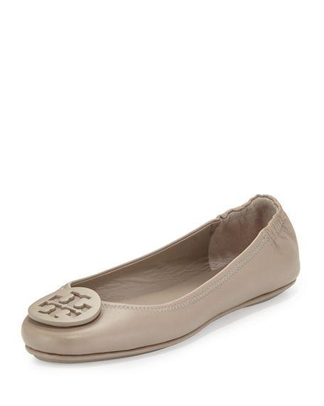 dd6de55ada2 Minnie Travel Logo Ballet Flats | S•H•O•E•S | Flats, Tory burch ...