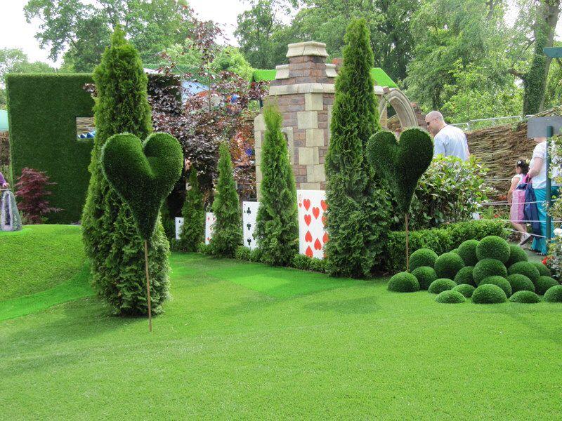 Alice in Wonderland garden | Great Ideas | Pinterest | Gardens and ...