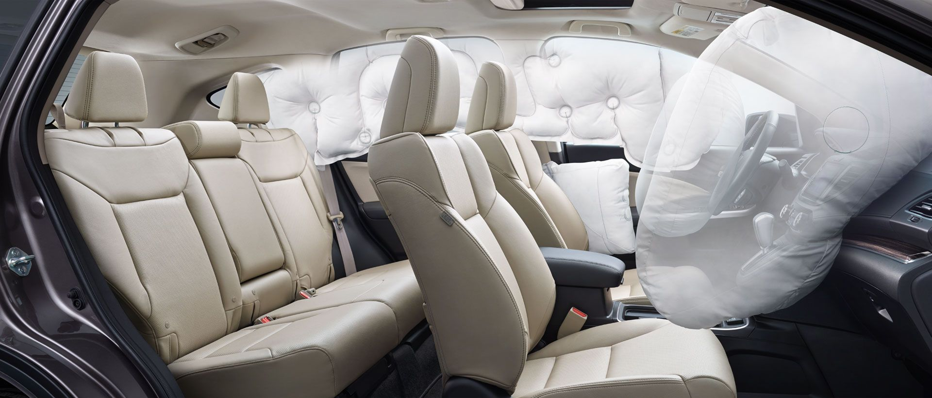 Multiple Airbags Car Safety Honda Cars New Cars