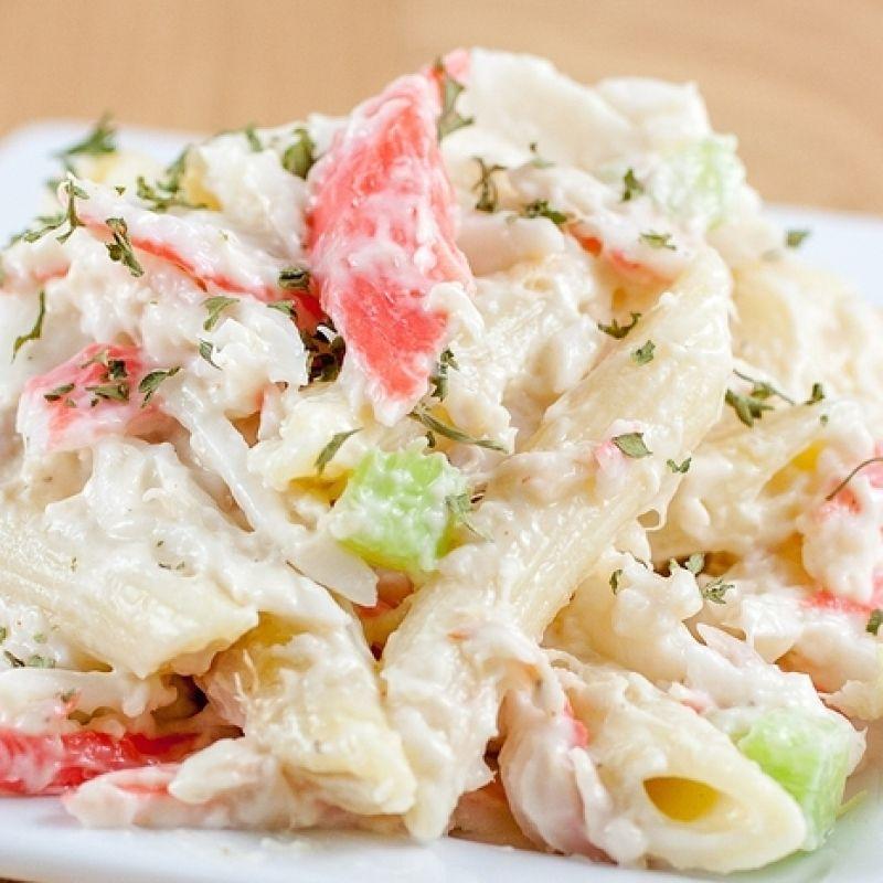 Seafood Salad Recipe Imitation Crab