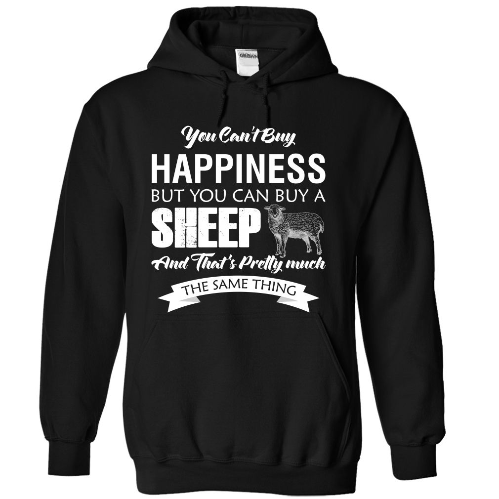 You cant buy happiness but you can buy a sheep and that is pretty much the same thing!