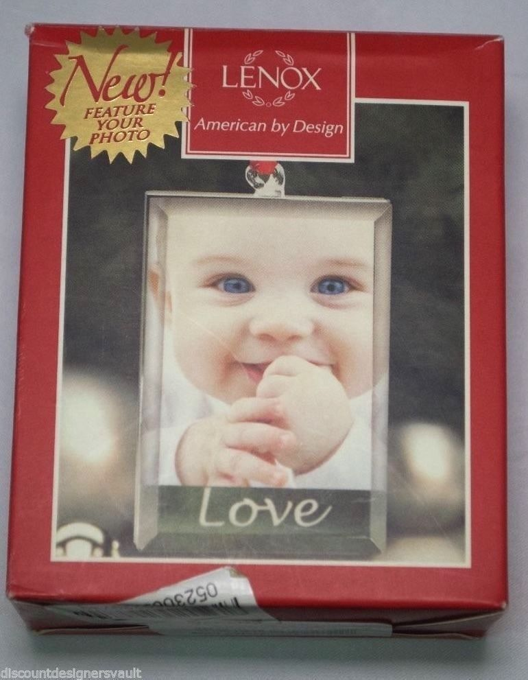NIB Lenox Sweetest Sentiments Love Picture Frame Ornament Great Gift ...