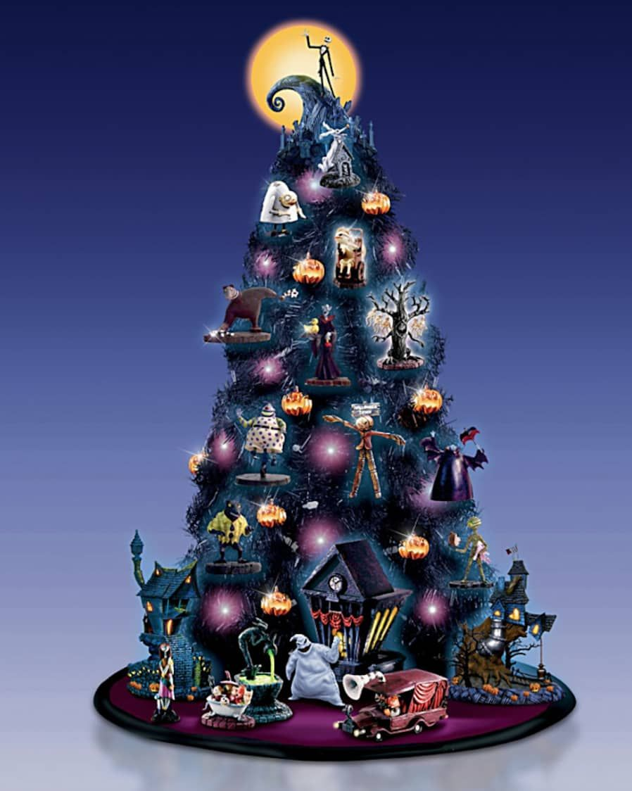 15 Removable Wallpaper Companies To Know Nightmare Before Christmas Tree Nightmare Before Christmas Clock Nightmare Before Christmas Halloween