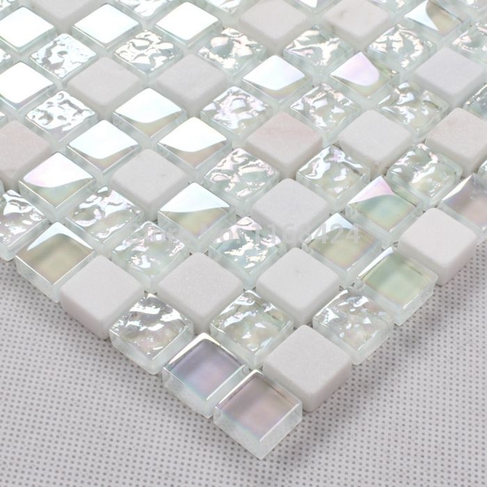 White Glass Mosaic Tile Deatils - White Glass Mosaic Tile Deatils Tile Pinterest Glass Mosaic