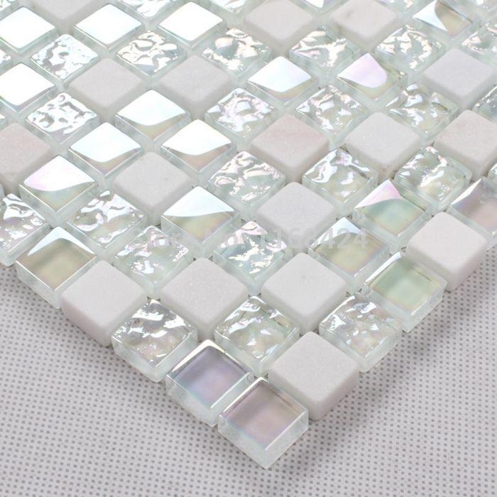 White Glass Mosaic Tile Deatils - White Glass Mosaic Tile Deatils Tile Pinterest Glass Mosaic