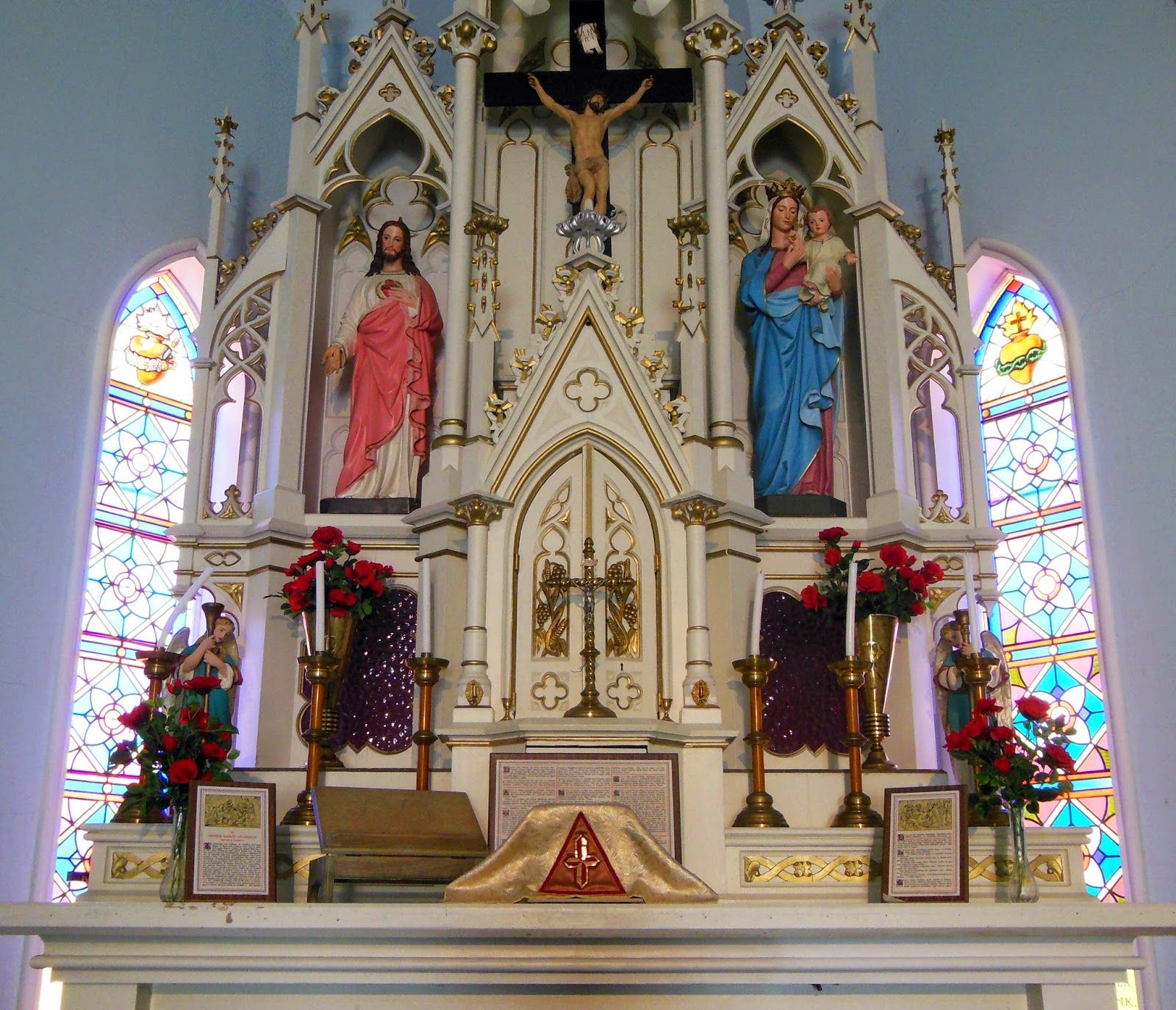 Wedding Altar Wiki: Roamin' Catholic Churches: April 2014