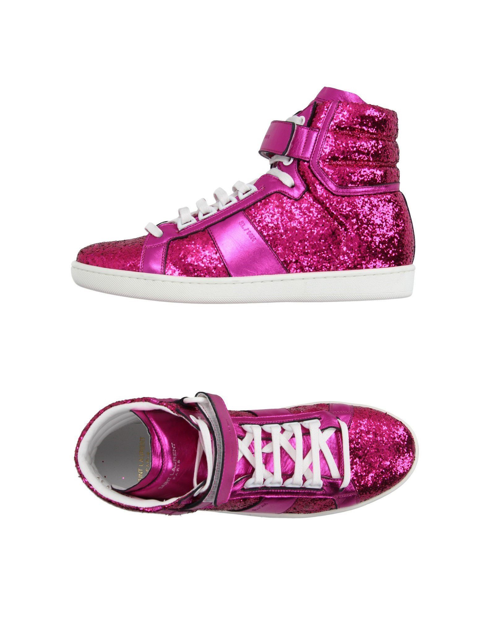 88f433f5ae7 Saint Laurent Women High-Tops on YOOX. The best online selection of  High-Tops Saint Laurent. YOOX exclusive items of Italian and international  designers ...