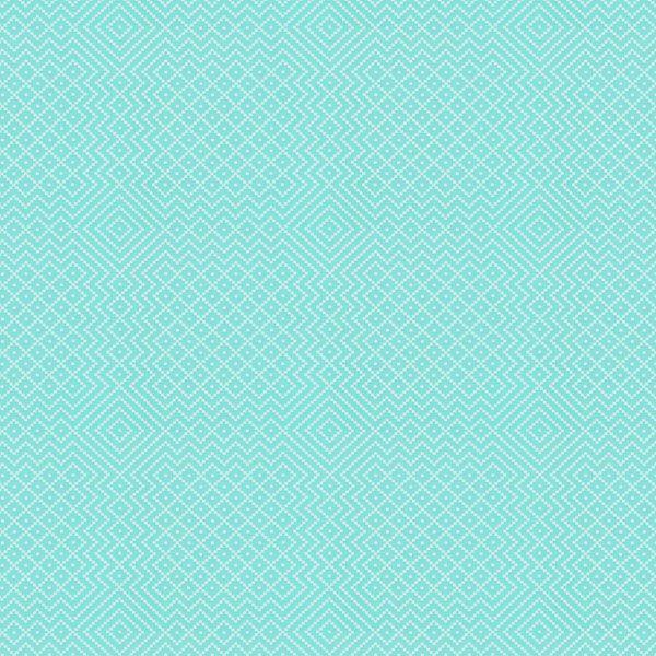 Free Spirit – Needlepoint 2 - Baumwolle - mintgrün