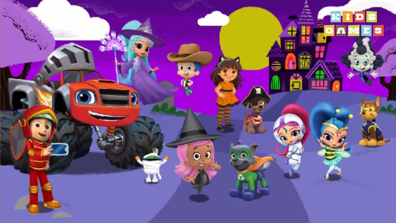 nickelodeon games to play online 2017 nickjr halloween house party 2017 kids games - Halloween Kid Games Online