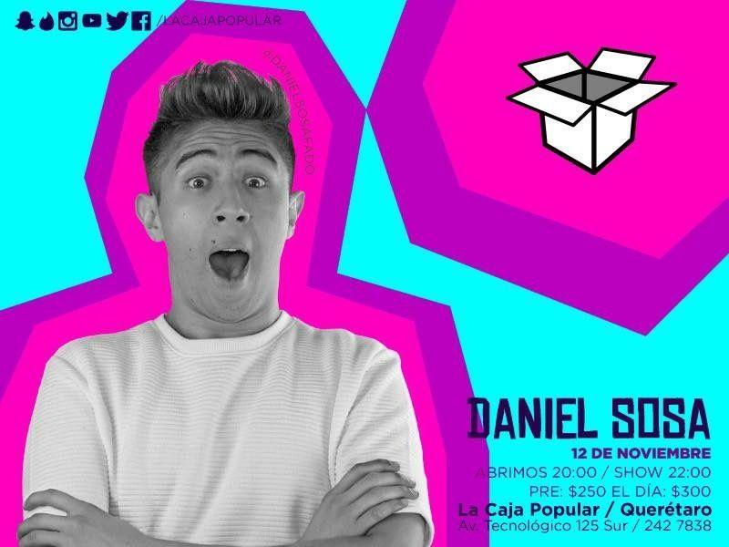 12 de noviembre de 2016 abriendo el show de Daniel Sosa en Querétaro