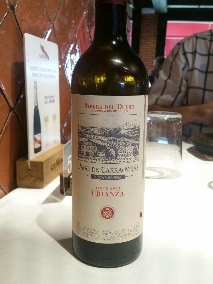 Pago De Carraovejas Ribera Del Duero Wine Drinks Bottle